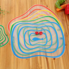 1x Resin Antibacterial Cut Board #K Non-slip Frosted Translucent Fruit Vegetable