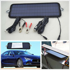 12V 4.5W Car SUV Polycrystalline Silicon Solar Panel Battery Charger 320X120X5mm