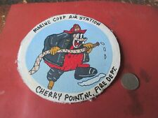 WWII USAAF DISNEY PETE MCAS CHERRY POINT  FIRE DEPT    FLIGHT JACKET  PATCH (A)