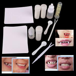 vampiri divertenti zombie foto puntelli Buck dentiera Set di 9 staffe per denti di Halloween divertenti denti finti denti finti WEKON giocattolo complicato per cosplsy