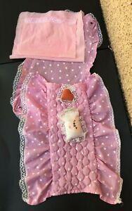 Barbie vintage80 Lit  baldaquin , dessus de lit et ciel de lit,  ref.5641 Mattel