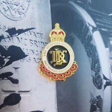 Drumderg poppy pin badge no surrender orange order 1690 ww11918 Ulster bands lwf