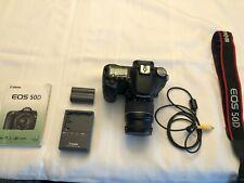 Canon EOS 50D 15.1MP Digital SLR Camera - Black (Kit w/ EF 28-80mm )