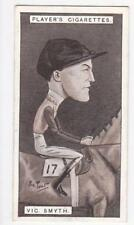 John Player & Sons Cigarette card - Racing Caricatures 1925 #35 Victor Smyth