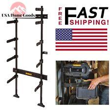 """DEWALT Black 25-1/2"""" Workshop Racking Equipment Storage Durable Metal Shelf Tool"""