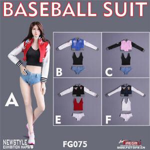 Fire Girl Toys 1/6 Female Soldier Sexy Baseball Uniform Set Figure Clothes FG075
