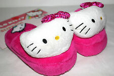 HELLO KITTY BED SLIPPERS BY SANRIO FOR KIDS GIRLS LARGE(11-12)