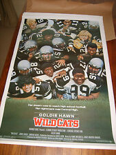 WILDCATS GOLDIE HAWN 1985 ORIGINAL 27x41 MOVIE POSTER ROLLED (468)