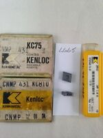 10 NEW KENNAMETAL CNMP 431 CARBIDE INSERTS. GRADE: KC68,75,810. USA MADE {L665}