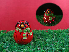 Xmas ,Rooster,home Decoration, ceramic Solar Light,LED colour changing,for kids