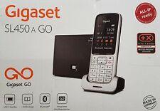 Gigaset SL450A GO Schnurloses DECT-Telefon, silber/schwarz - in OVP, Händler