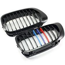 1 Paire Grille Avant Calandre Noir Pour BMW E46 2 Port 98-01 3 Series Durable