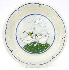 Vintage Retro English Ironstone Tableware Ducks Side Tea Plate