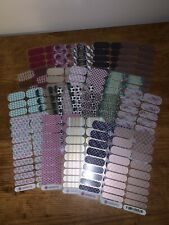 Lot of 20 Full Sheet Jamberry Nail Wrap Seconds - Diy Manicure!