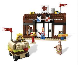 LEGO Spongebob Squarepants 3833 Krusty Krab Adventures W/ Manual Figures No Box