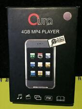 Aura 4GB MP4 Player Purple Music New In Box