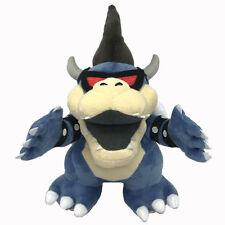 "Dark Bowser Super Mario Bros Boss Koopa Plush Toy Stuffed Animal Figure 11"""
