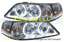 ORACLE Lincoln Town Car 05-11 WHITE LED Headlight Halo Angel Demon Eyes Rings