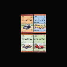 St Lucia, Sc #739-42, MNH, 1985, Automobiles, Cars, Cpl Set, A1AAIcx