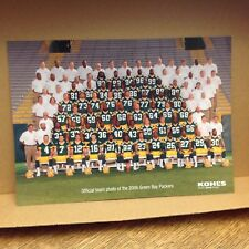 2006 Green Bay Packers Team Photo Favre Rodgers McCarthy