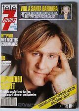 Télé 7 Jours du 5/11/1988; Depardieu Secret/ Pivot/ Santa Barbara/ Paco