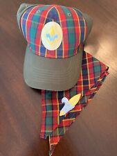 Webelos Boy Scout Uniform Hat S/M and Neckerchief BSA