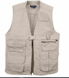511 Mens M Tactical Series Vest w/ Holster Concealed Carry Shooting Hunting  NWT