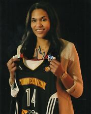 Alyssa Thomas signed (Connecticut Sun) Wnba basketball 8X10 photo W/Coa