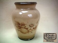 "Denby Memories 5.5"" Tall Vase Excellent Condition"