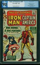 Tales Of Suspense # 59 US Marvel 1964 Iron Man & Cap America Begin VFN-Presque comme neuf 9.0 P