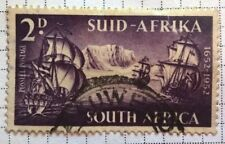 South Africa stamps - 300th Anniversary of Landing of van Riebeeck - 2d 1952