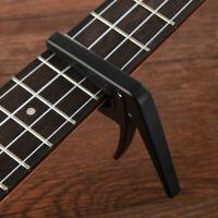KE_ Quick Change Guitar Capo Tune Clamp Key for Acoustic Electric Guitar Ukule