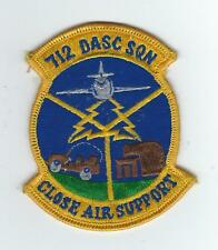 70's 712th  DIRECT AIR SUPPORT CENTER SQUADRON(ASIAN MADE)  patch
