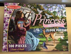 Melissa & Doug Princess Pathway Floor Puzzle 100 Pieces 2' X 3'