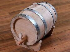 Holzfass 5/10/20/30/50 Liter Whiskyfass Eichenfass Weinfass Schnapsfass Fass