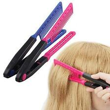 Styling Hair Straightener Equipment Tool Beauty V Type Comb Delicate Salon DIY
