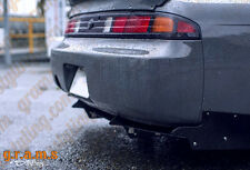 Nissan 200sx S14 / S14a NAVAN Style CARBON FIBER Rear bumper Body Kit Racing V6