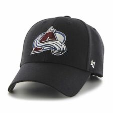NHL Colorado Avalanche Cap Basecap 47Brand adjustable Baseballcap MVP Wool navy
