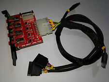 Free shipping four channel SATA device HDD power switch (Model PT628)