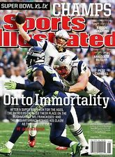 Sports Illustrated Magazine 2/9-2/16/2015 On to Immortality NEW ENGLAND PATRIOTS