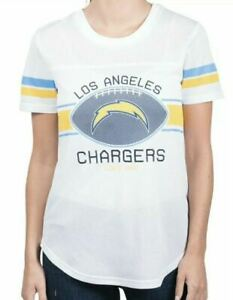 NFL Womans Soft Mesh Jersey NWT Los Angeles LA Chargers Small S xs top shirt