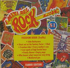 "I MITI DEL ROCK n.51  TRAFFIC ""FREEDOM RIDER""  cd promo Italy mint"