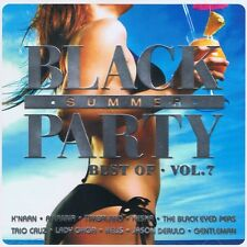 BLACK SUMMER PARTY-Best Of-vol.7 - NUOVO 2 CD LADY GAGA RIHANNA Stromae Drake