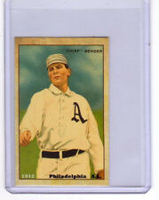 1912 Chief Bender, Philadelphia Athletics,  limited edition Centennial reprint