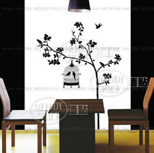 Birds in the Tree Home Decor Removable Wall Sticker Decal Decoration Vinyl Mural