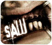 SAW 3  MOUSE PAD - 1/4 IN. TV HORROR MOVIE MOUSEPAD
