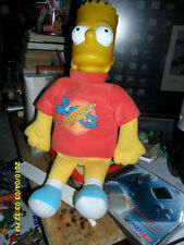 THE SIMPSONS BART WEARING THE ITCHY & SCRATCHY SHOW SWEAT SHIRT 13' inch Doll