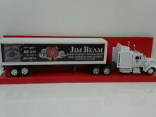 Jim Beam Kenworth W900 1:43 Container Truck Rig Semi Barware
