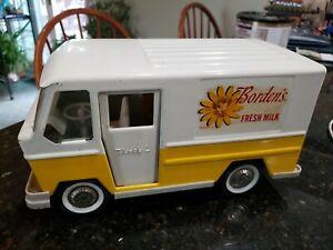 Buddy L Bordens Pressed Steel Fresh Milk Van Truck
