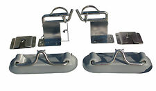 "Boat Davits for swim platform and Inflatable dinghy raised 4"" w/ Quick release"
